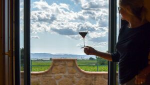 Private WS TOP 100 tasting with dedicated sommelier and chef prepared wine lunch