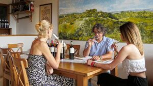 Professional wine tasting guided by the winemaker Simone Santini