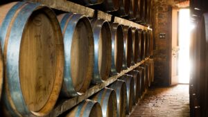Wine Spectator's TOP 100 (for FIVE times and #5 in 2005 ) Toscana Oreno refining cellars