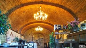 Enjoy your spirits pairing TUSCAN lunch at Il vecchio Frantoio (ancient oil mill) restaurant
