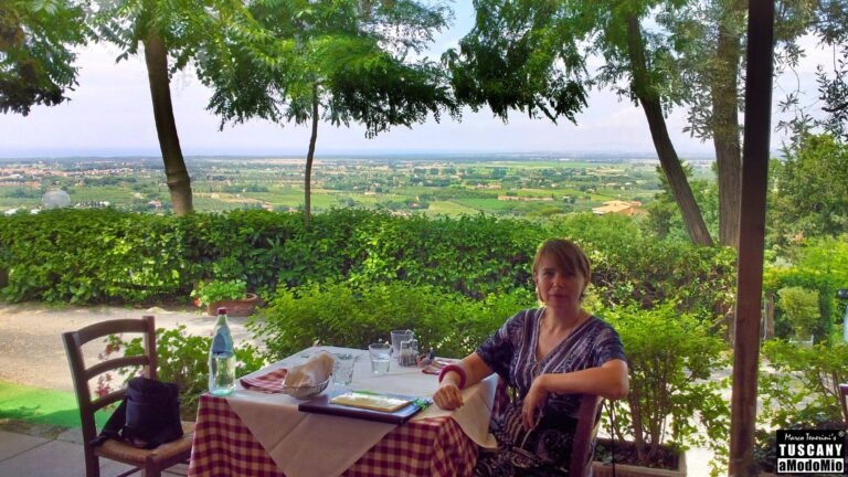 Tuscan coast and Bolgheri vineyards (Sassicaia area...) relaxing panorama while you taste liqueurs pairing lunch