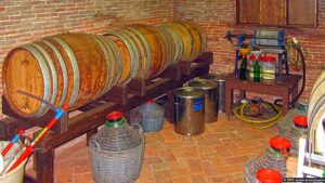 """Tuscan modern """"alchemists"""" laboratory for liqueurs production and distillery"""