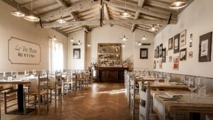 After tasting, savor traditional Tuscan dishes, each course paired by a different wine