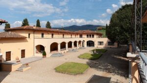 Chianti, just a few km from Florence, WS TOP 100 private tasting at Ruffino's Renaissance Villa