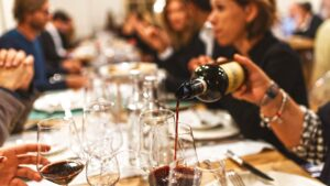 Chocolate gourmands and wine connoisseur can meet around the same table