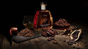 Tuscan spirits, chocolate, cofee, tobacco, spices, athmosphere, fire