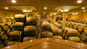 5 YEARS aging and REFINEMENT cellar in barrels and barriques