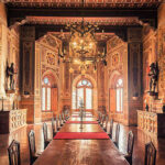 Castello di Brolio historic and spectacular Hall of Arms - Your private TASTING ROOM