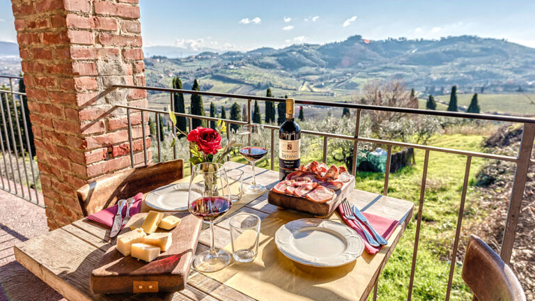 In TOSCANA only - Cooking class with a wiev