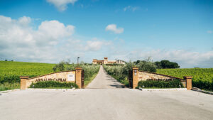 Mr Arnaldo Caprai welcomes you at his winery and residence