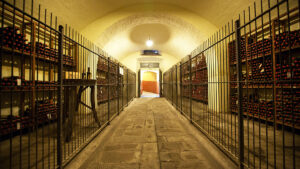 TOP WINES from the archive cellar wil pair your Cooking Class made plates