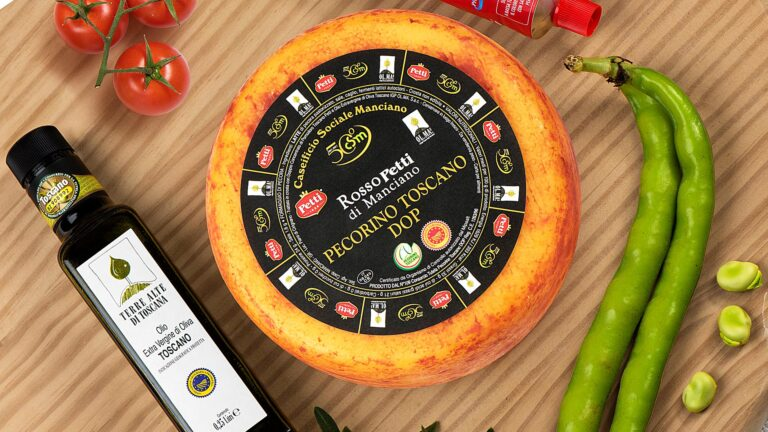 TOSCANA concentrate - Tuscan pecorino cheese, Tuscan tomato, Tuscan Olive Oil