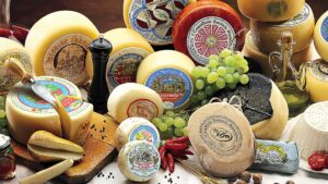 TUSCANY's wildest area produces an incredible variety of cheeses